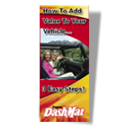 DashMat Dash Board Covers Brochure