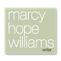 Marcy Hope Williams Writer