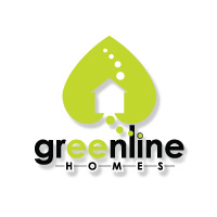 Green Line Homes Logo The Image Foundry