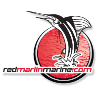 Red Marlin Marine Logo The Image Foundry