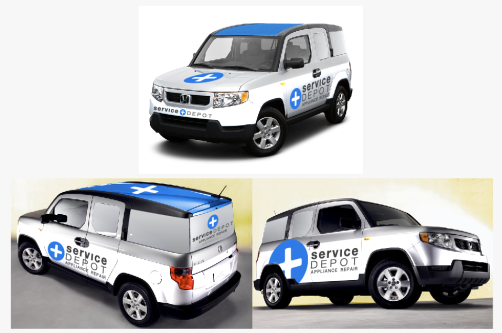 The_Service_Depot_Vehicle_Wrap_Vehicle_Graphics_Honda_Element_Graphic_Design__The_Image_Foundry