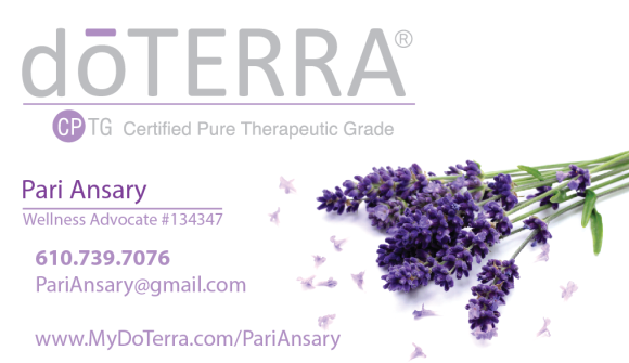doTerra Business card Back