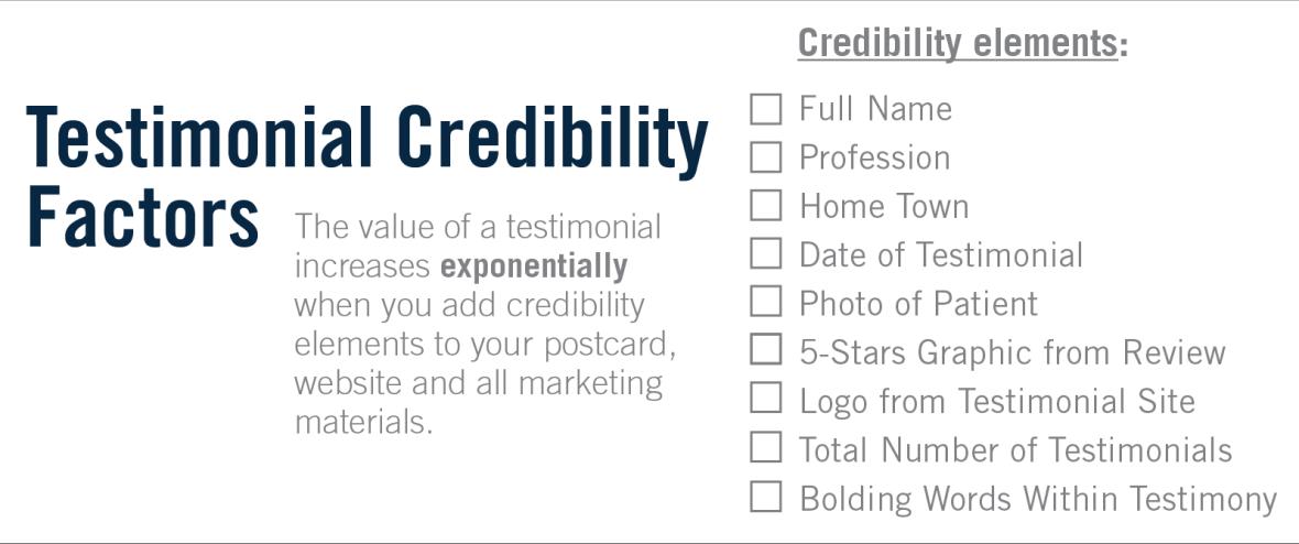 The 9 Testimonial Credibility Factors