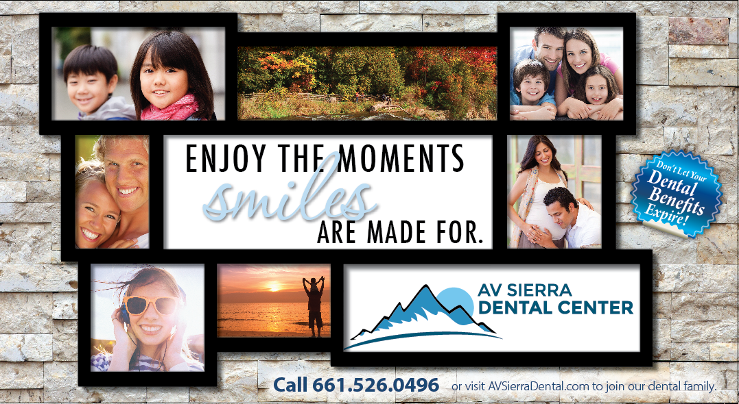 Photo of AV Sierra Dental Center's Postcard front