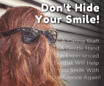 Social Media Ad - Don't Hide Your Smile!