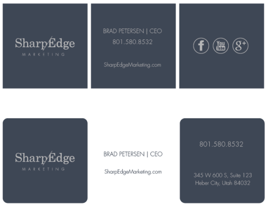 email signature not used for SharpEdge Marketing