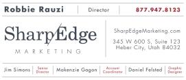 Email signature for SharpEdge Marketing