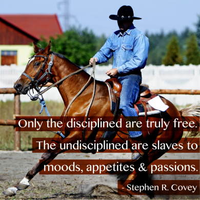 Undisciplined-Are-Slaves-Steven-Covey-Quote-Meme-1