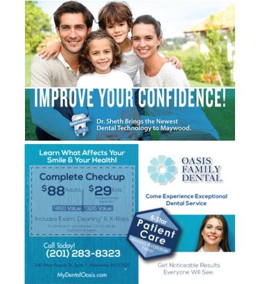 Direct-Marketing-Handout-Card-Oasis-Dental